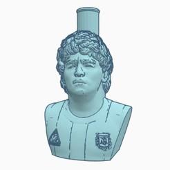 Descargar archivo STL Boquilla Cachimba / Shisha Maradona • Modelo para imprimir en 3D, Shisha3D