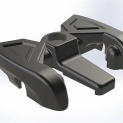 fluid 2.jpg Télécharger fichier STL Fluide NX10/NX11 pour le montage des fixations de ski • Plan imprimable en 3D, Phaust