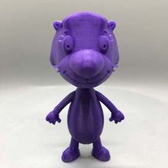 IMG_3313.jpg Download free STL file Jelly Otter from PB&J Otter • 3D printer design, TroySlatton
