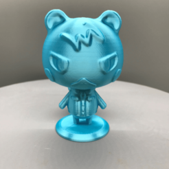 e959f82e11d3b933fbbe65b3fcfc7768.png Download free STL file Animal Crossing Marshal • 3D print template, TroySlatton