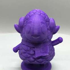 IMG_3276.jpg Download free STL file Stella from Animal Crossing • Object to 3D print, TroySlatton
