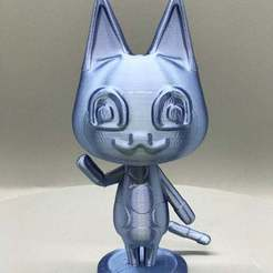 IMG_3262.jpg Download free STL file Mitzi from Animal Crossing • 3D printer template, TroySlatton
