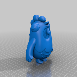 FallGuy_Chicken.png Download free STL file Fall Guys Chicken • Model to 3D print, TroySlatton