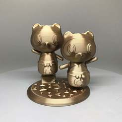 IMG_3404.jpg Download free STL file Timmy and Tommy from Animal Crossing • Object to 3D print, TroySlatton