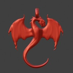 25.jpg Download STL file Dragon • 3D printable model, esteban4aq