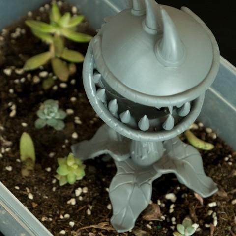 Free STL files Chomper (Plants Vs Zombies), Milkshake3D