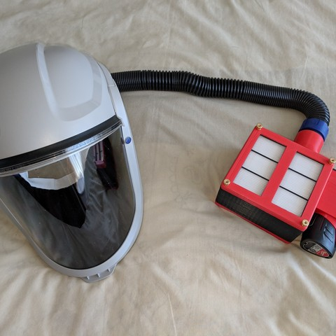 Download free STL files Air Supply - Respirator, mbonadurer