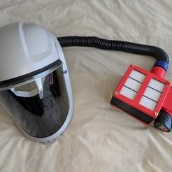 Free STL Air Supply - Respirator, mbonadurer