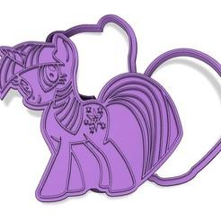 Descargar archivos STL cortador de galletas mi pequeño pony crepúsculo chispeante, Margo