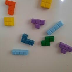 20210117_115143.jpg Télécharger fichier STL gratuit Tetromino pour les glaces (Tetris magnétique) • Objet pour imprimante 3D, oteronicolas