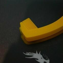 20210112_191122.jpg Télécharger fichier STL gratuit Porte-bobine sous le bureau • Design pour imprimante 3D, oteronicolas
