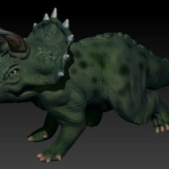 Download 3D print files Triceratops, ana21lyash