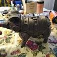 Download free 3D printing designs Sir Pigglesby (a most noble piggy bank), Unconquered