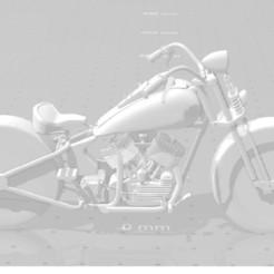 harley davidson.jpg Télécharger fichier STL Harley davidson • Objet pour imprimante 3D, ats08