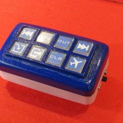Télécharger objet 3D gratuit Bluepad Streamdeck et clavier à code, AjaxJones