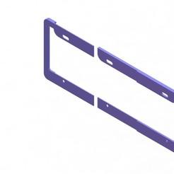 Car license plate ensamble 1.JPG Télécharger fichier STL Assemblage des plaques d'immatriculation des voitures • Design pour imprimante 3D, Albrey3d