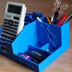 Descargar diseños 3D gratis Organizador de escritorio NanoPutian Desk Organizer, Professor_Maker