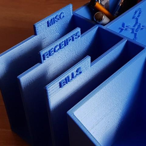 Free Stl File Nanoputian Desk Organizer ・ Cults
