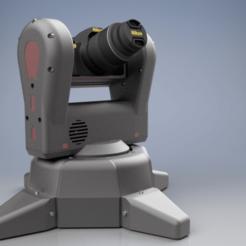Ensemble3.png Download STL file pied motorisé appareil photo 360° • Template to 3D print, Naliar