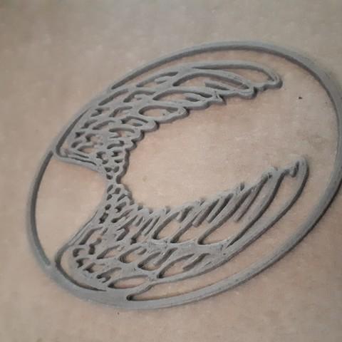 3D printer files Angel wing, Naliar