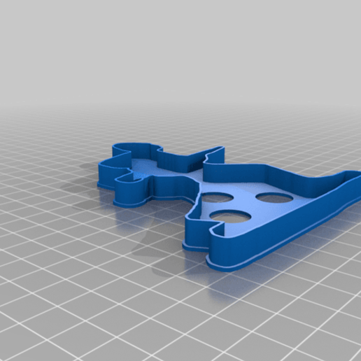 Download free 3D printing templates toy solder cookie cutter, liggett1