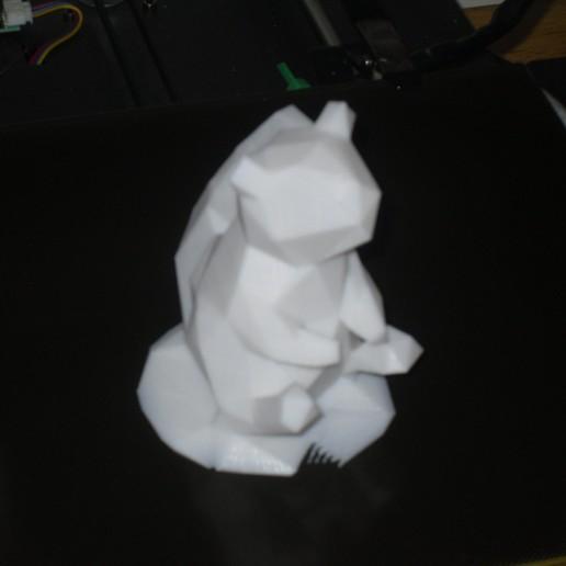 Download free 3D printer designs low poly squirrel , liggett1