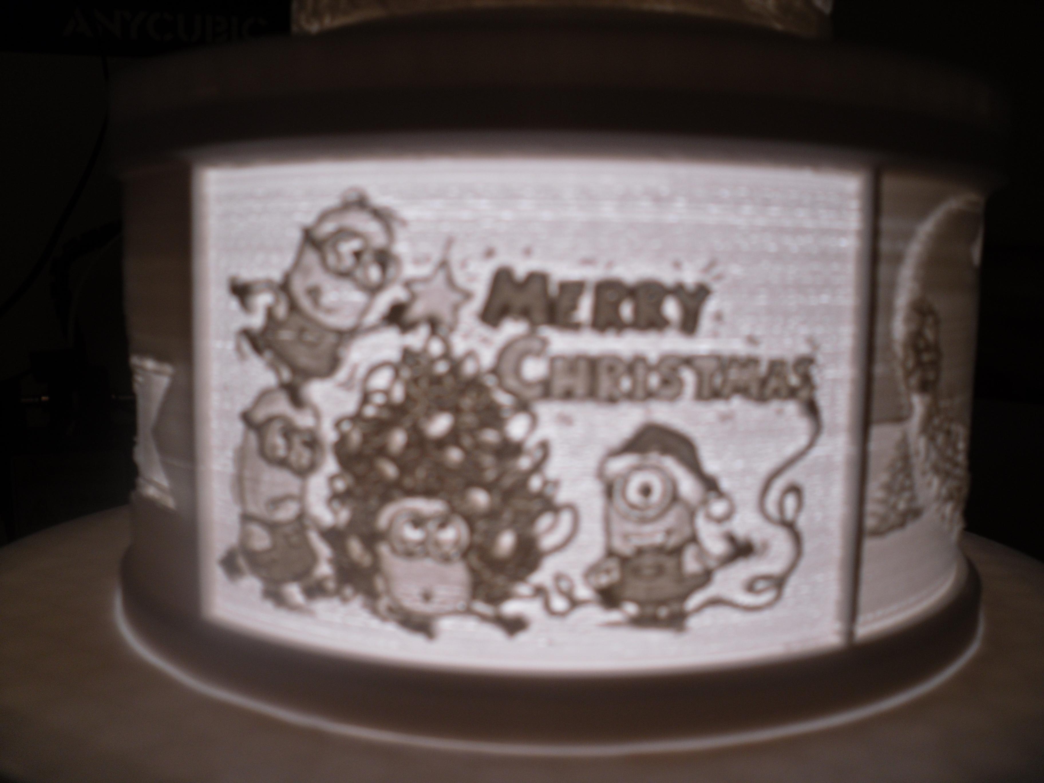 SDC10004.JPG Télécharger fichier STL gratuit Gâteau de Noël au lithophane • Objet pour imprimante 3D, liggett1