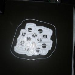 Télécharger fichier STL gratuit jouet train emporte-pièce emporte-pièce • Objet à imprimer en 3D, liggett1