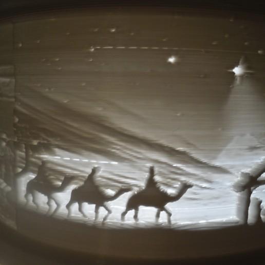 SDC10005.JPG Télécharger fichier STL gratuit Gâteau de Noël au lithophane • Objet pour imprimante 3D, liggett1