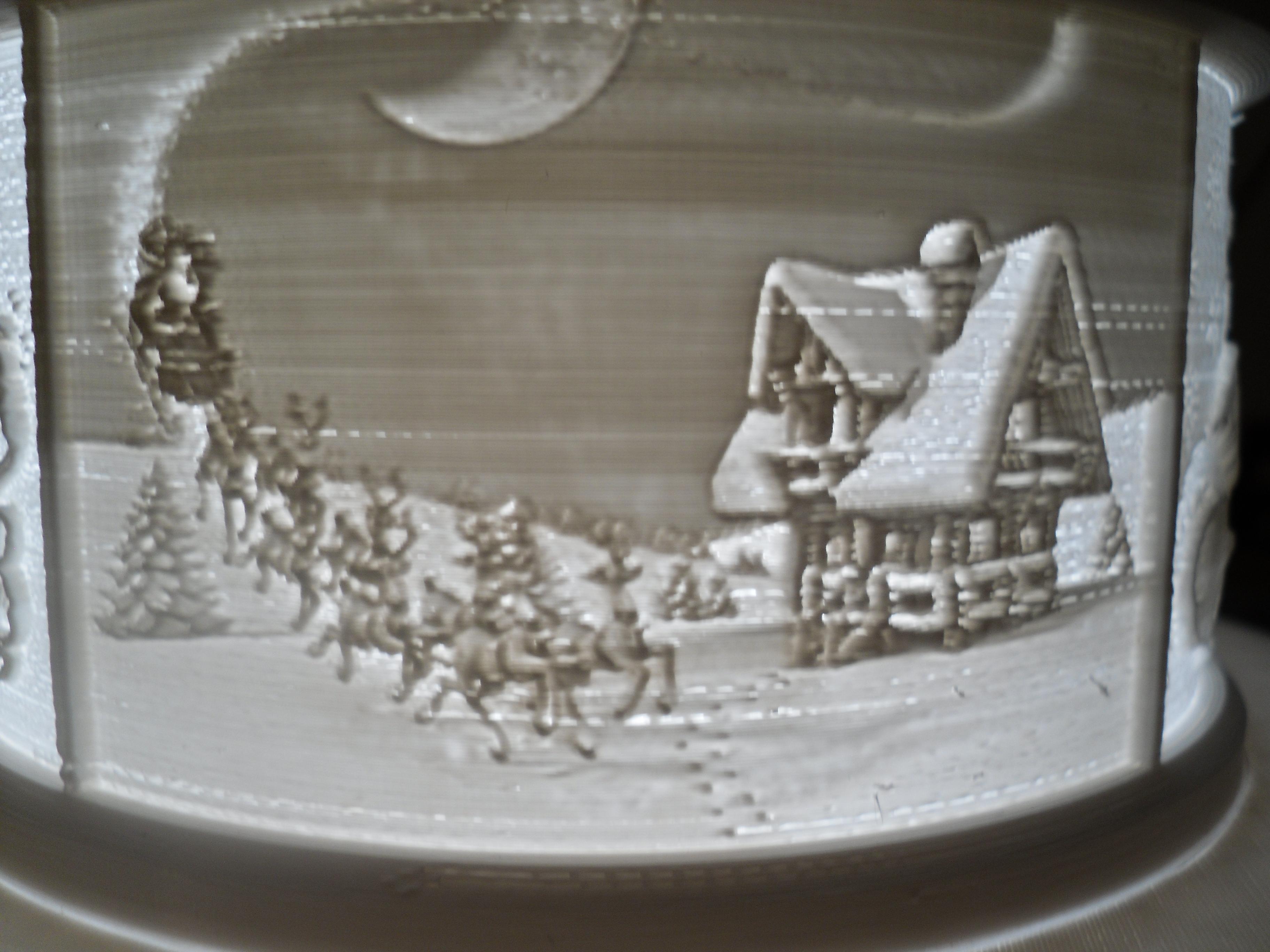 SDC10006.JPG Télécharger fichier STL gratuit Gâteau de Noël au lithophane • Objet pour imprimante 3D, liggett1