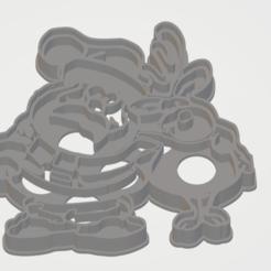 Télécharger fichier STL gratuit à l'emporte-pièce du Père Noël et rudolphe • Plan pour imprimante 3D, liggett1