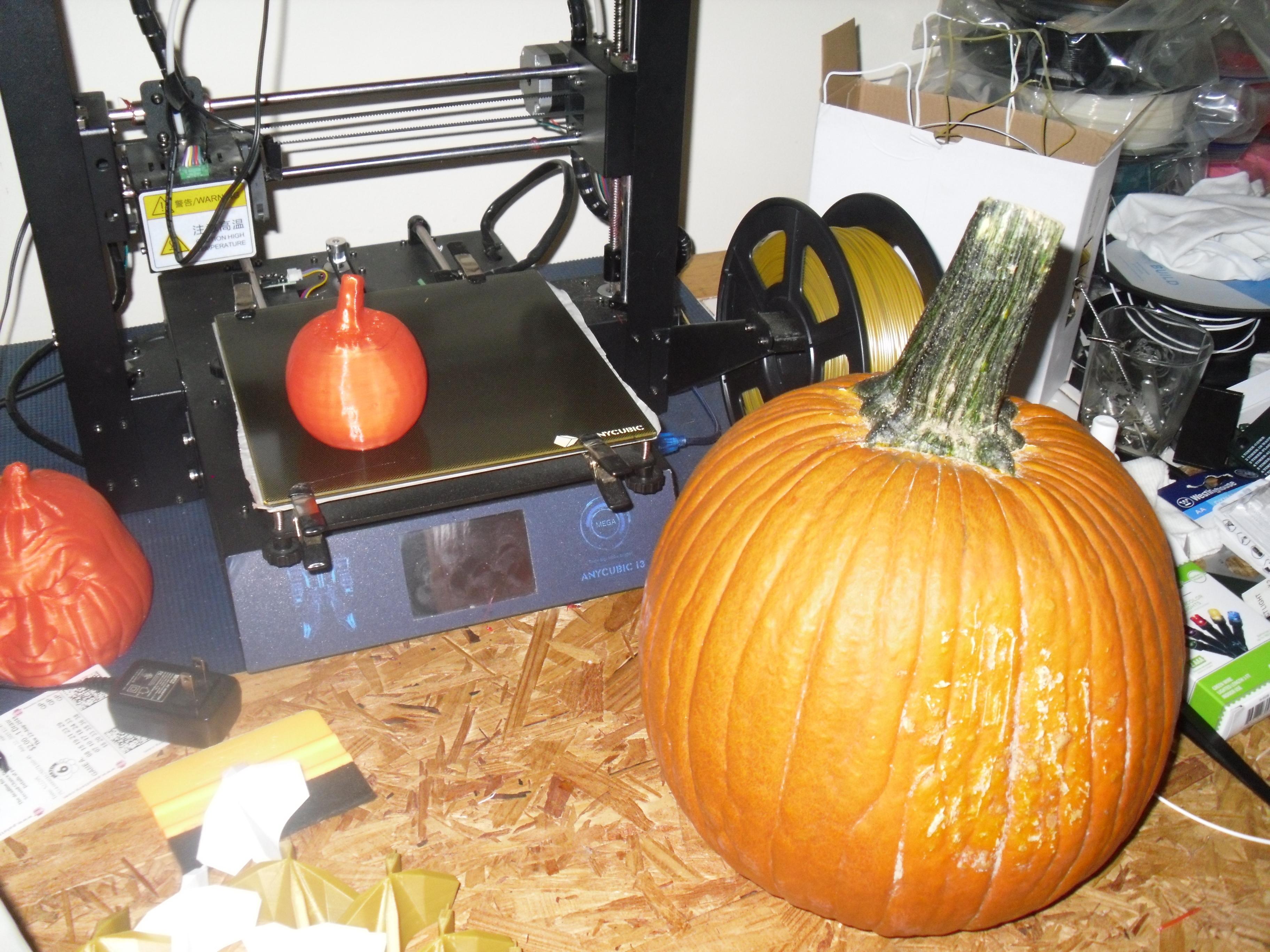 SDC10001.JPG Download free STL file 3d scann of real pumpkin • 3D print object, liggett1