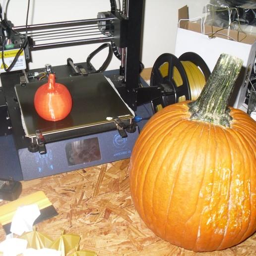 Download free STL files 3d scann of real pumpkin, liggett1