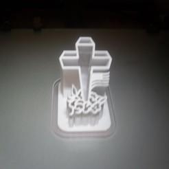 SDC10033.JPG Télécharger fichier STL croix du jour du souvenir et moule à biscuit • Modèle à imprimer en 3D, liggett1