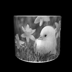 Download free 3D print files Lithophane Christmas candle lampshade, liggett1