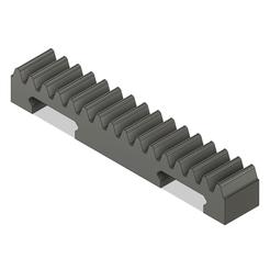 Download STL Rack Gear Actuator, Skyworker