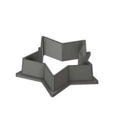 Descargar archivos 3D gratis Estrella del cortador de galletas, Skyworker