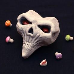 Descargar archivo 3D Alice Madness Returns inspirado - cráneo para el cospago de Alice Lidell, GeekOn