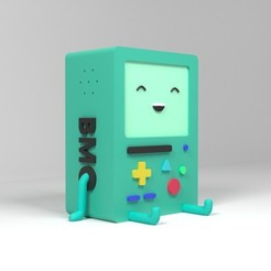 BMO2-3.jpg Download free STL file BMO pen stand • 3D printing design, GeekOn
