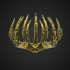 Descargar modelo 3D La Corona del Infierno de las escalofriantes aventuras de Sabrina, GeekOn