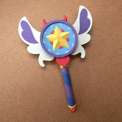Untitled-1.jpg Download STL file Star vs the Forces of Evil Season 3 Magic Wand • 3D printable object, GeekOn
