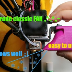 Descargar archivos 3D gratis Mejora del conducto de refrigeración para un Wanhao i3, turboshnurbo