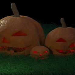 calabaza.jpg Download free OBJ file halloween pumpkin • 3D printable model, a_l_dl_v