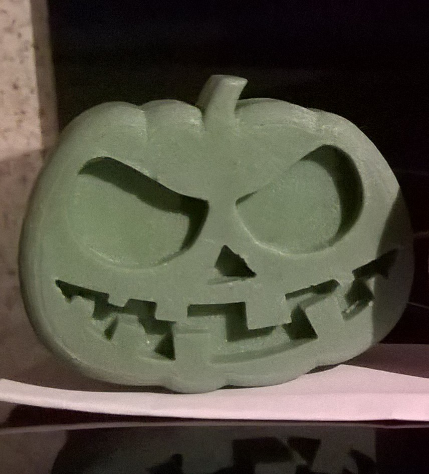 Green.jpg Download free STL file Scary Halloween Pumpkin Molds • 3D printable design, crzldesign