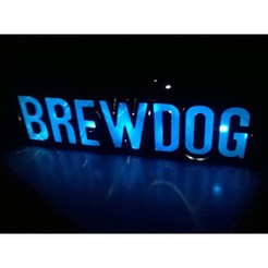 In-Dark-2.jpg Download free STL file Brewdog Light-Up Piggy-Bank / Light-Box • 3D printable object, crzldesign