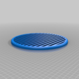 Download free STL file Heavy Duty Vent / Grille with Fixing Rim • 3D print object, crzldesign