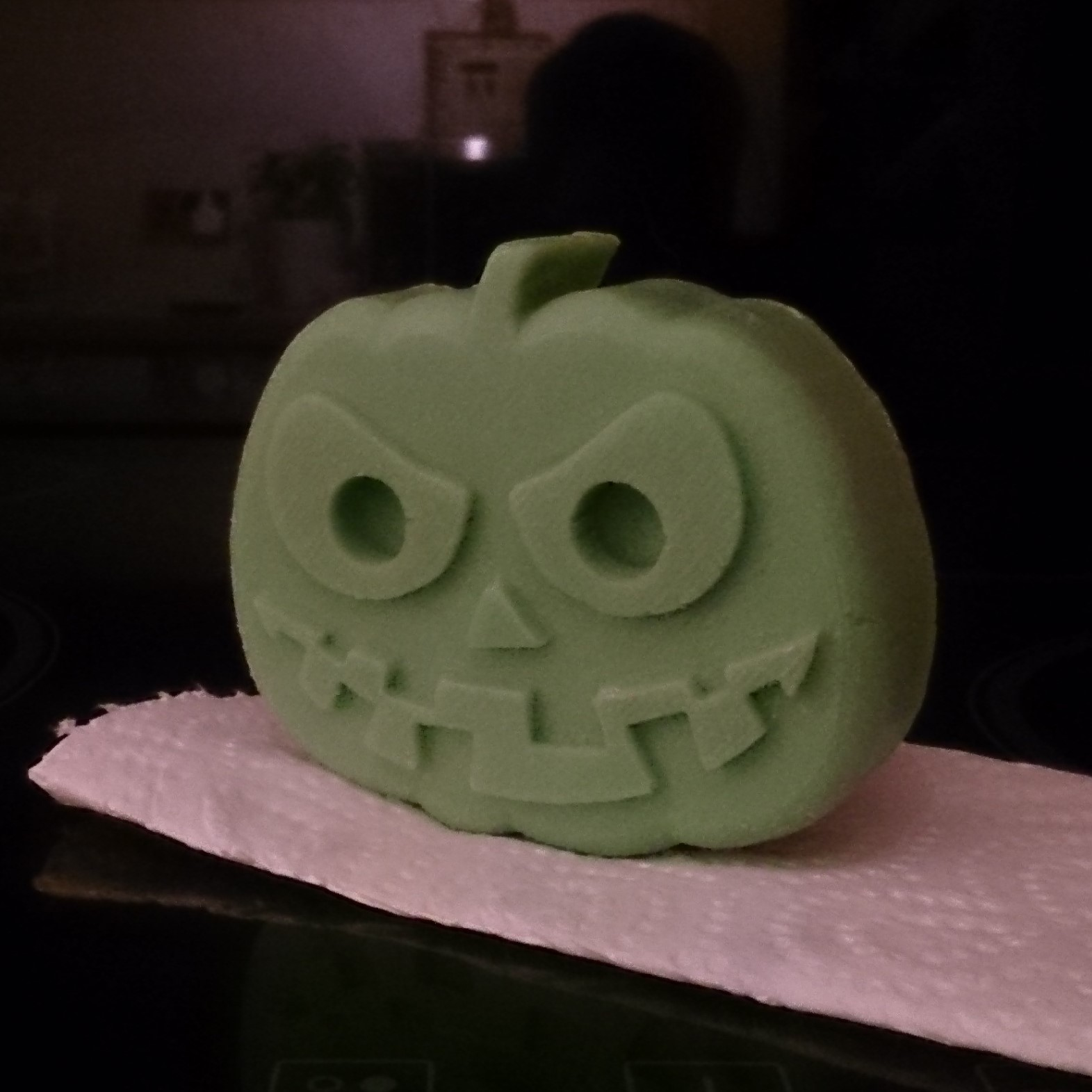 Pump-T2.jpg Download free STL file Scary Halloween Pumpkin Molds • 3D printable design, crzldesign