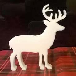 Télécharger fichier imprimante 3D gratuit Moisissure du savon de Noël au cerf, crzldesign