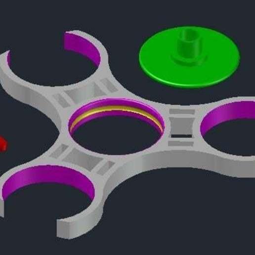 Spinners-El-1x.jpg Télécharger fichier STL gratuit Tournevis à coussinets • Modèle imprimable en 3D, crzldesign