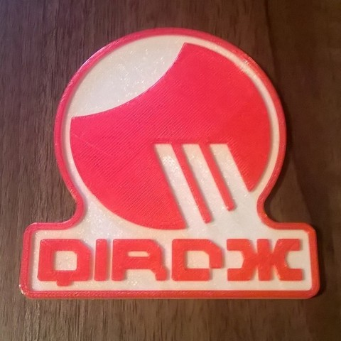 Free 3D printer model Wipeout Qirox Team Beer Mat / Drinks Coaster, crzldesign